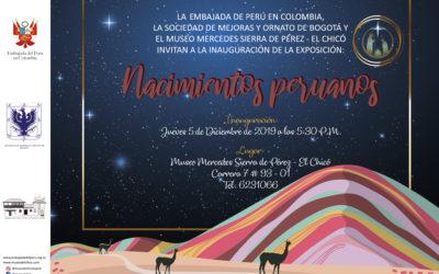 """EXPOSICIÓN PESEBRES: ARTESANÍA Y ARTE POPULAR DE AYACUCHO """"NACIMIENTOS PERUANOS"""""""